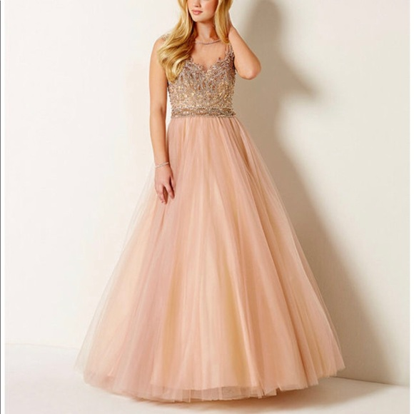 417500525fe Glamour by Terani Couture Formal Dress